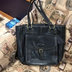 Chaps Leather Bag